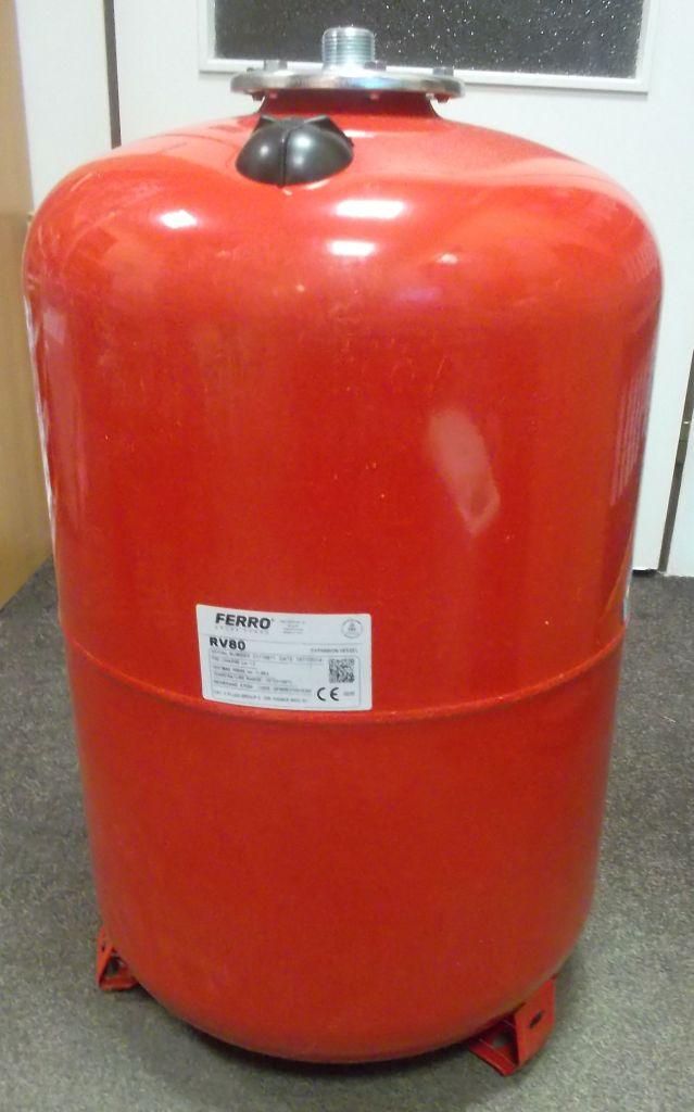 FERRO expanzní nádoba 80L červená