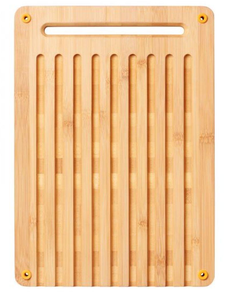 Fiskars Functional Form™ Bambusové prkénko pro krájení chleba 1059230