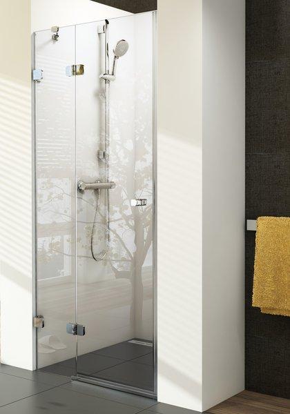 RAVAK Brilliant BSD2-100 A-R sprchové dveře 100cm, pravé, transparent 0UPAAA00Z1