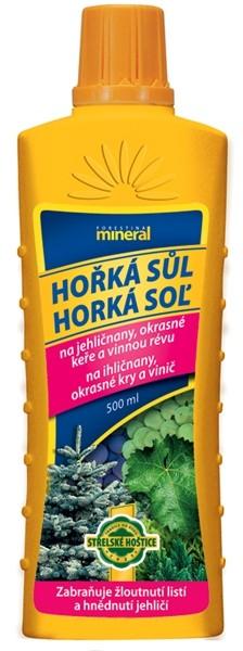 Mineral Hořká sůl tekutá 500ml - proti žloutnutí listí a jehličí 1219024