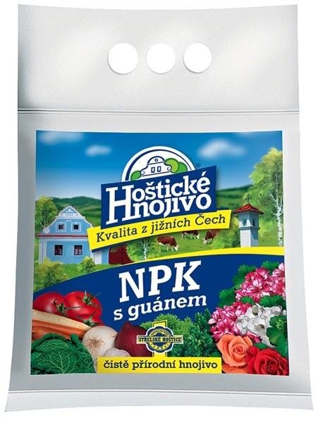 FORESTINA Hoštické NPK hnojivo s guánem 1kg