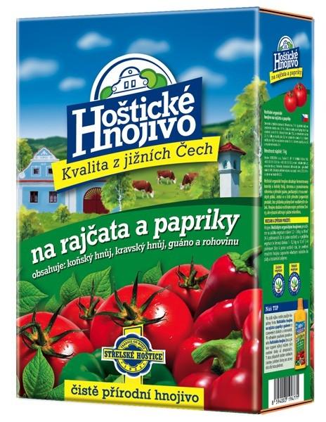 FORESTINA Hoštické hnojivo na rajčata a papriky 1kg 1204014