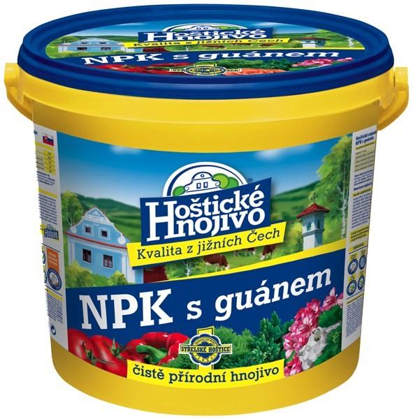 FORESTINA Hoštické NPK hnojivo s guánem 8kg