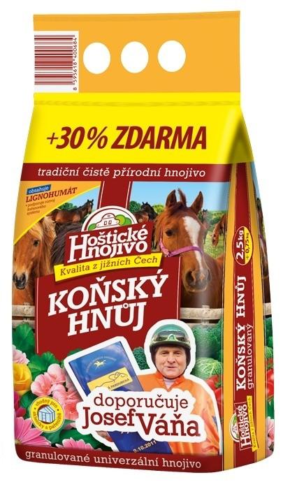 """FORESTINA Hoštické Hnojivo Koňský hnůj """"Váňův"""" 2,5 kg + 30% ZDARMA 23590226"""
