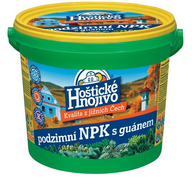 FORESTINA Hoštické podzimní NPK hnojivo 4,5kg s guánem 24700022