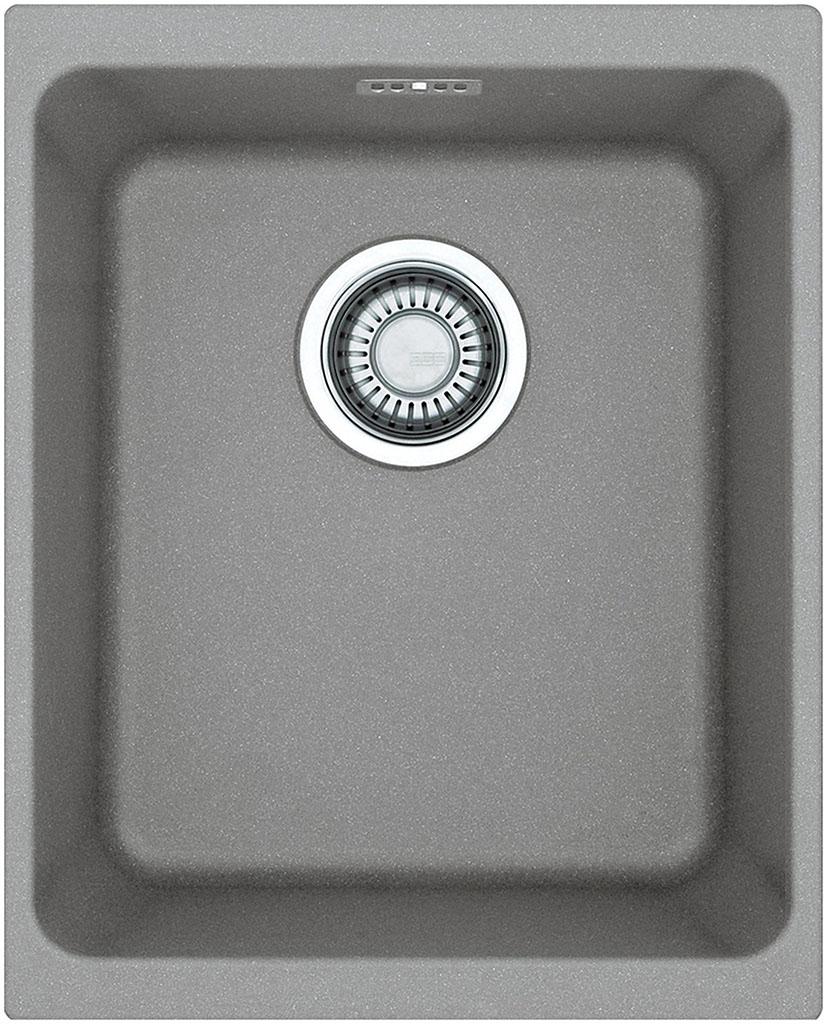 Franke Kubus KBG 110-34, 367x460 mm, fragranitový dřez, šedý kámen 125.0023.835