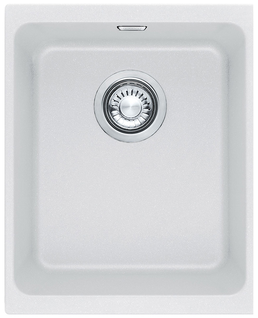 Franke Kubus KBG 110-34, 367x460 mm, fragranitový dřez, bílá led 125.0176.651