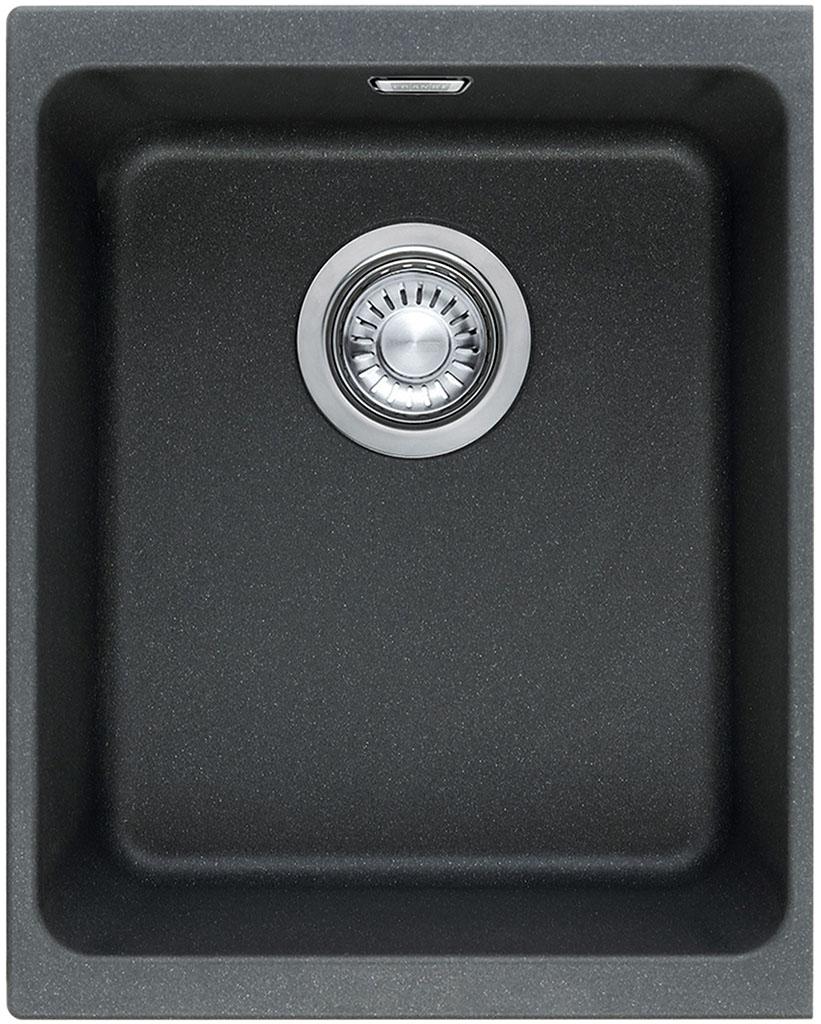 Franke Kubus KBG 110-34, 367x460 mm, fragranitový dřez, onyx 125.0176.637