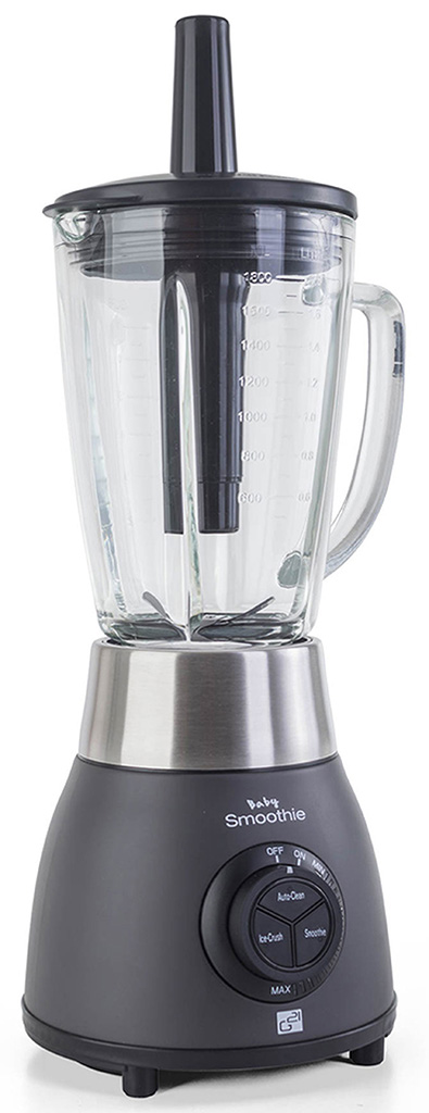 G21 Blender Baby smoothie, Graphite Black 600856