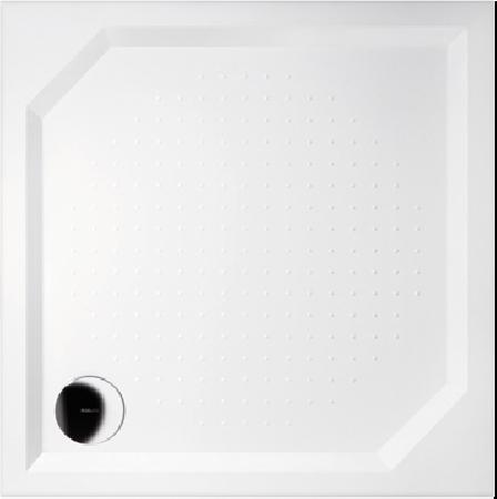 GELCO G5 Aneta čtvercová sprchová vanička 90x90 profilované dno, bílá GA009