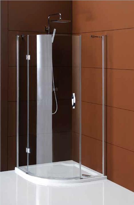 GELCO Legro sprchový kout čtvrtkruhový 90 jednodílný, sklo čiré GL6590