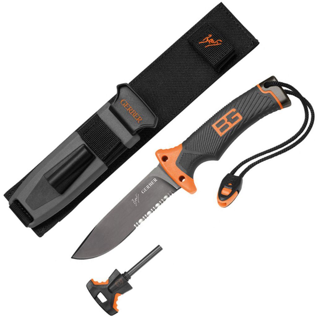 Gerber® Bear Grylls Ultimate nůž, kombinované ostří GE31-000751