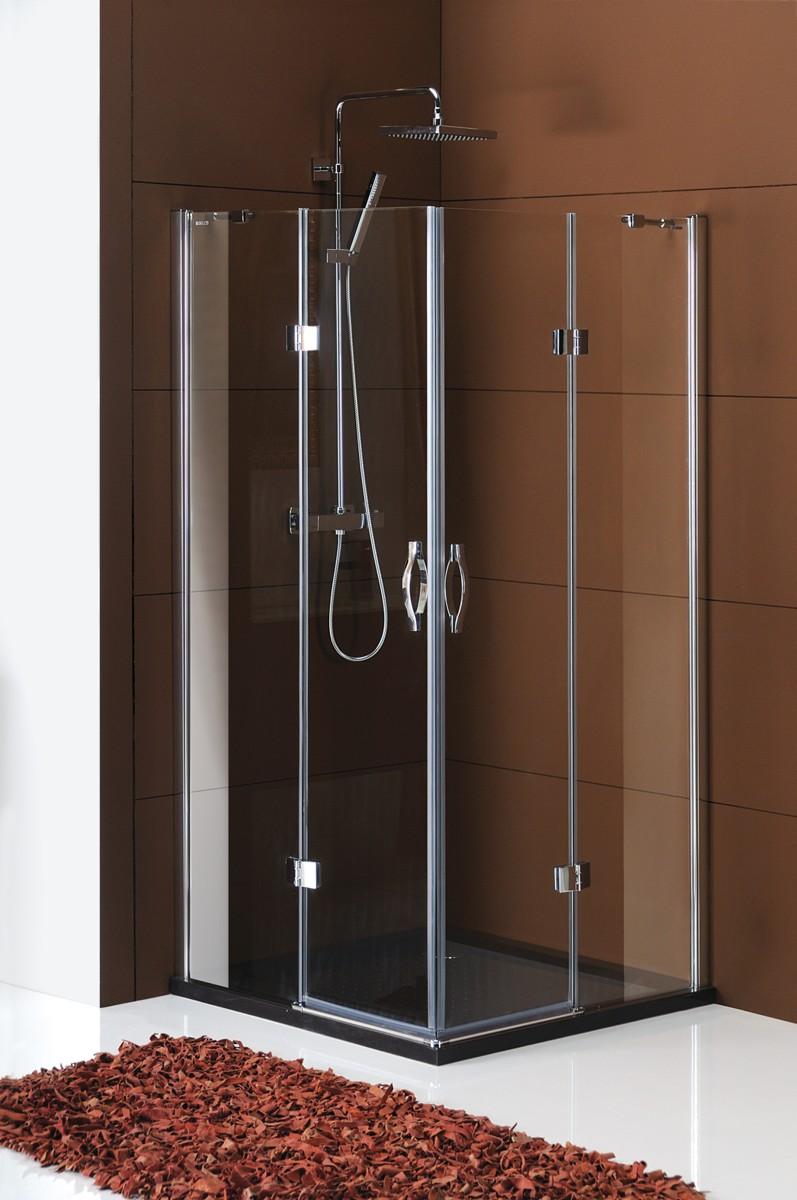 GELCO Legro sprchový kout čtvercový 90, sklo čiré GL2290