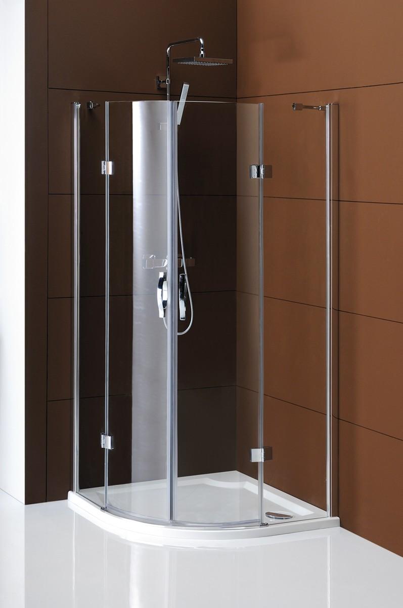 GELCO Legro sprchový kout čtvrtkruhový 90, sklo čiré GL5590