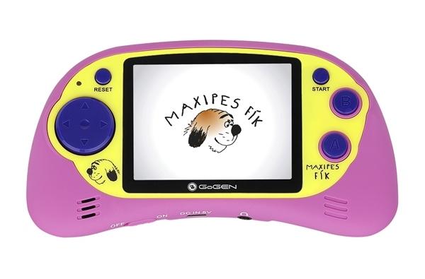 """GoGEN kapesní hra MAXI HRY 150 P 2,7"""" LCD displej, 150 her, růžová"""