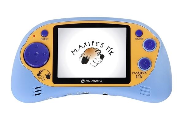 "GoGEN kapesní hra MAXI HRY 150 B, 2,7"" LCD displej, 150 her, modrá"