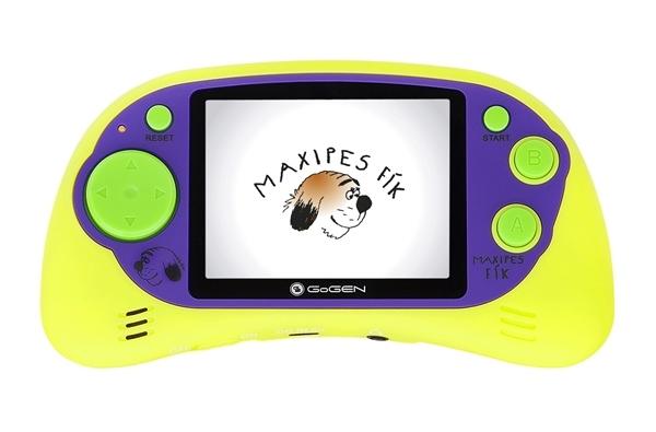 "GoGEN kapesní hra MAXI HRY 150 G, 2,7"" LCD displej, 150 her, zelená"