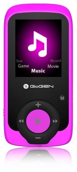 GoGEN MP3/MP4 MAXI MP3, 4GB, růžová barva