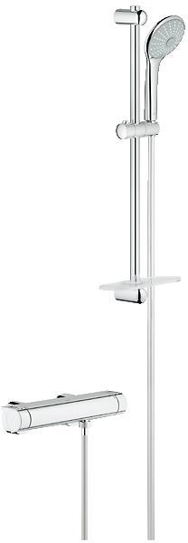 GROHE Grohtherm 2000 NEW termostatická sprchová baterie, DN 15, chrom 34195001