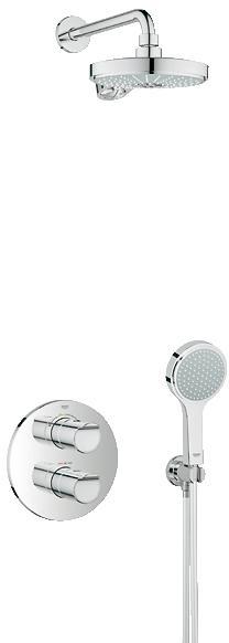 GROHE Grohtherm 2000 NEW podomítková sprchový systém, chrom 34283001