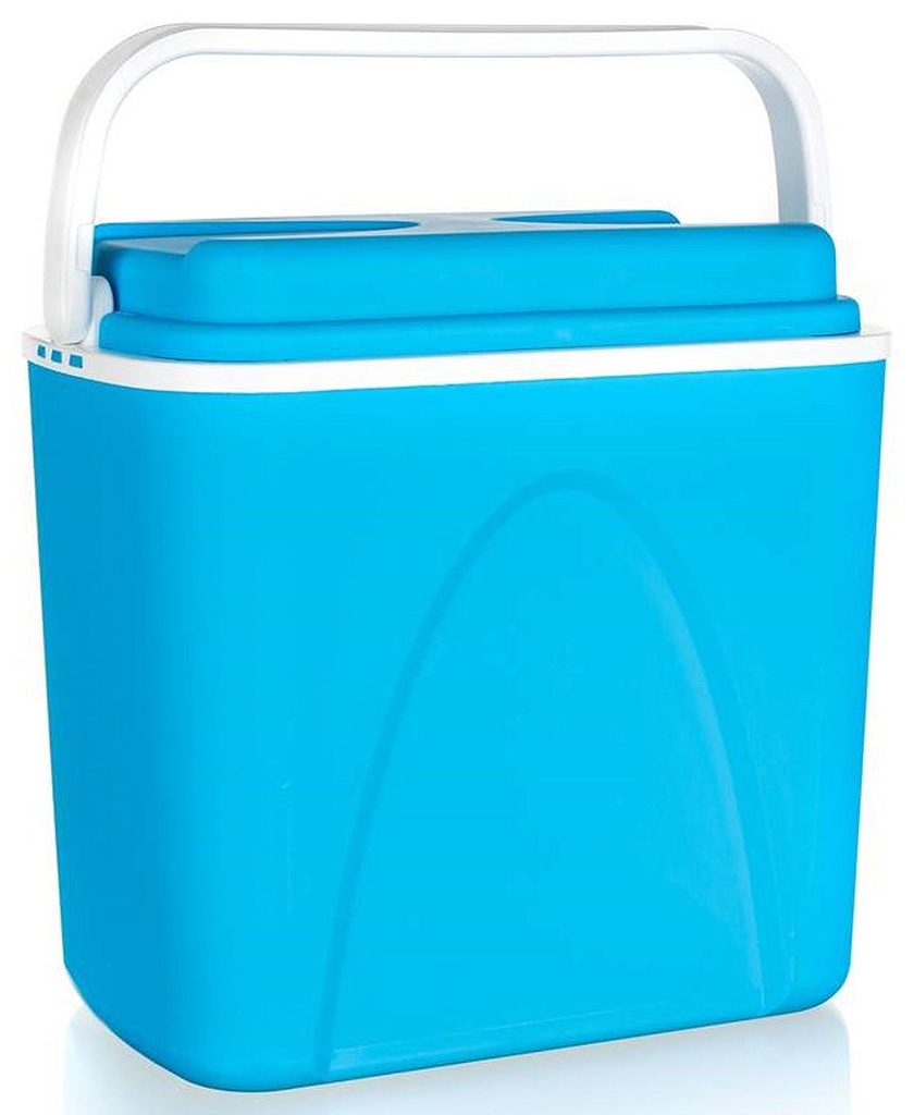 HAPPY GREEN Chladící box 25 L modrý 50541001B