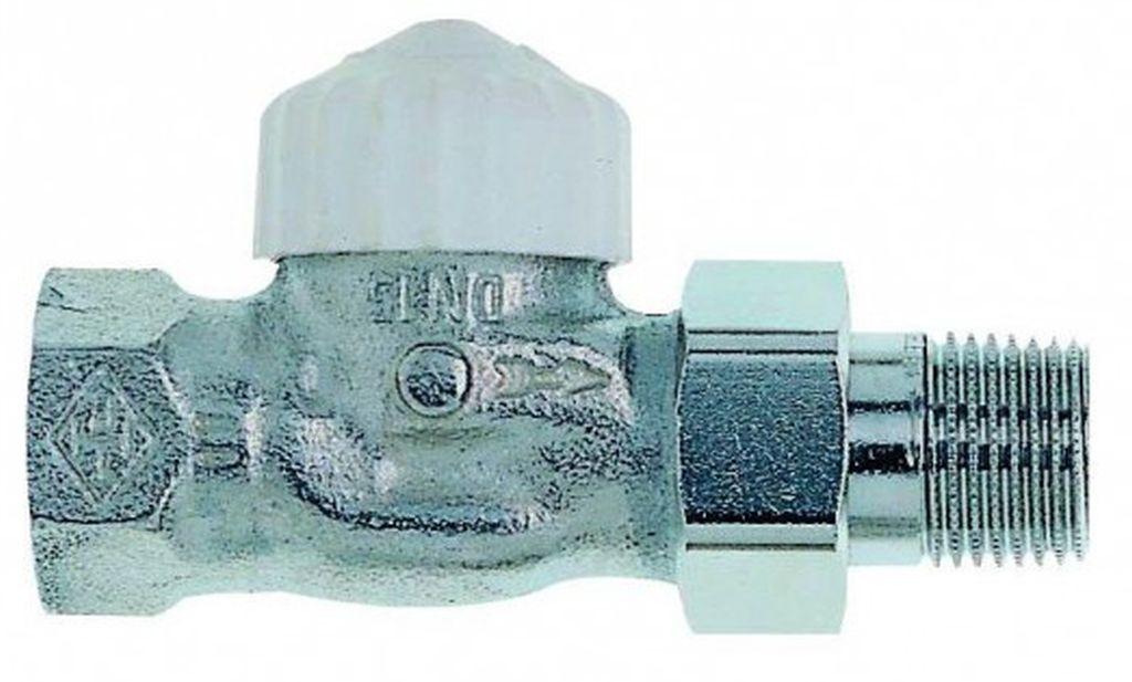 "HEIMEIER Termostatický ventil 3/4"" CALYPSO-exact, DN 20, zkrácený, přímý 3452-03.000"