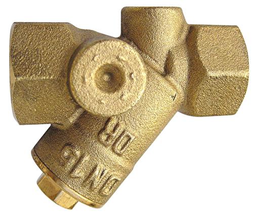HERZ Filtr s jemným sítem, oko 0,75 mm, DN 65, 1411117