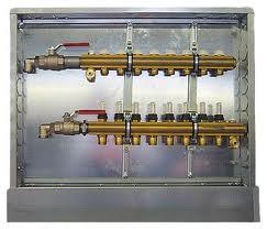 HERZ Kompletní rozdělovač pro připojení otopných těles 3-okruhový 1857503