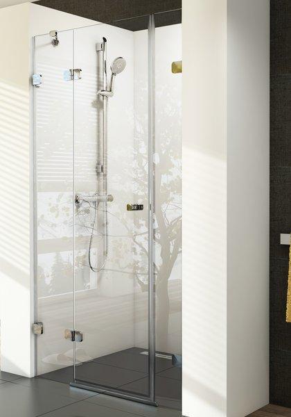 RAVAK Brilliant BSD3-100 R sprchové dveře 100cm, pravé, transparent 0UPD0A00Z1