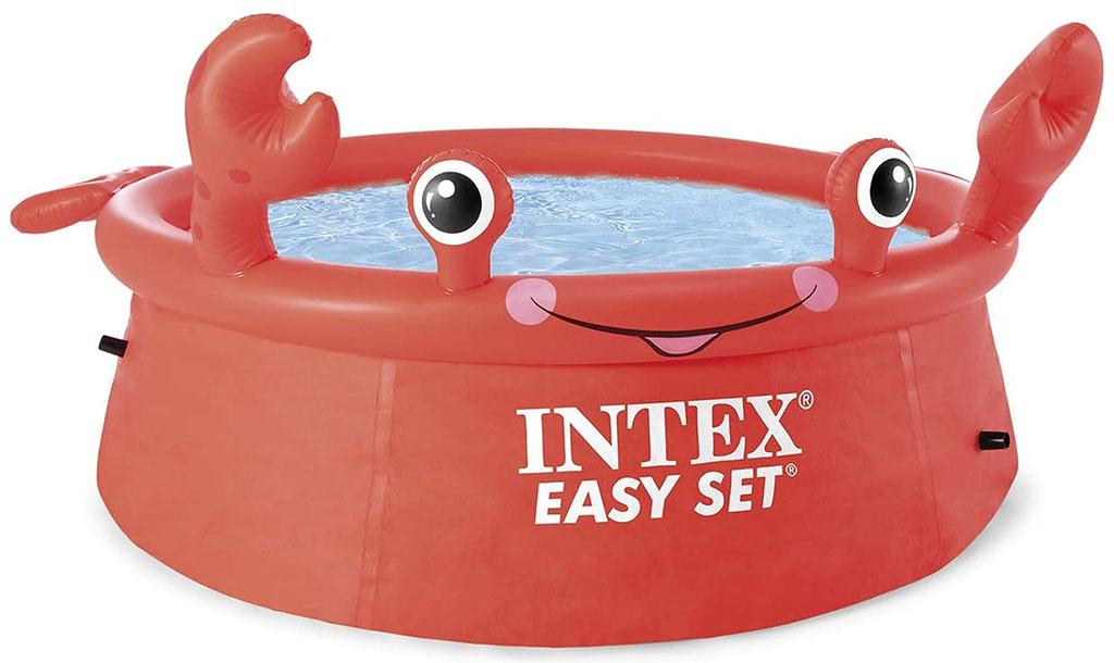 INTEX Bazénový set Happy Crab Easy 183cm x 0,51 cm 26100NP