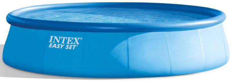 INTEX EASY SET POOL 5,49 x 1,22 ms kartušovou filtrační pumpou ( 12 V ) 26176GN