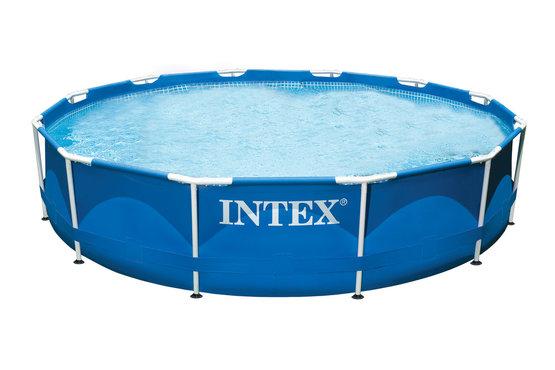 VÝPRODEJ INTEX Bazén Metal Frame Pool 366 x 76 cm, 28210NP POŠKOZENÝ OBAL!!!!