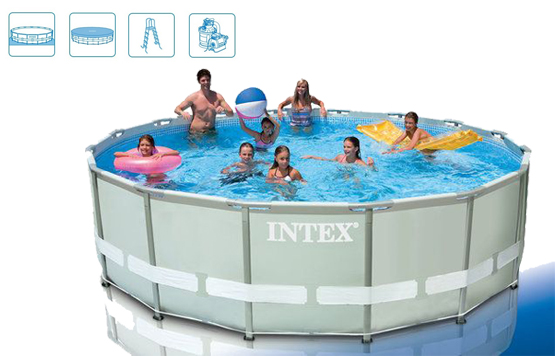 INTEX Bazén Ultra Frame Pool 488 x 122 cm, 28324NP