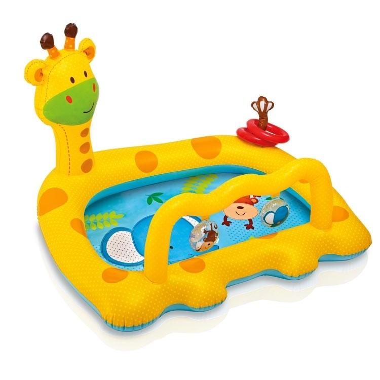 INTEX Bazén usměvavá žirafa 57105NP