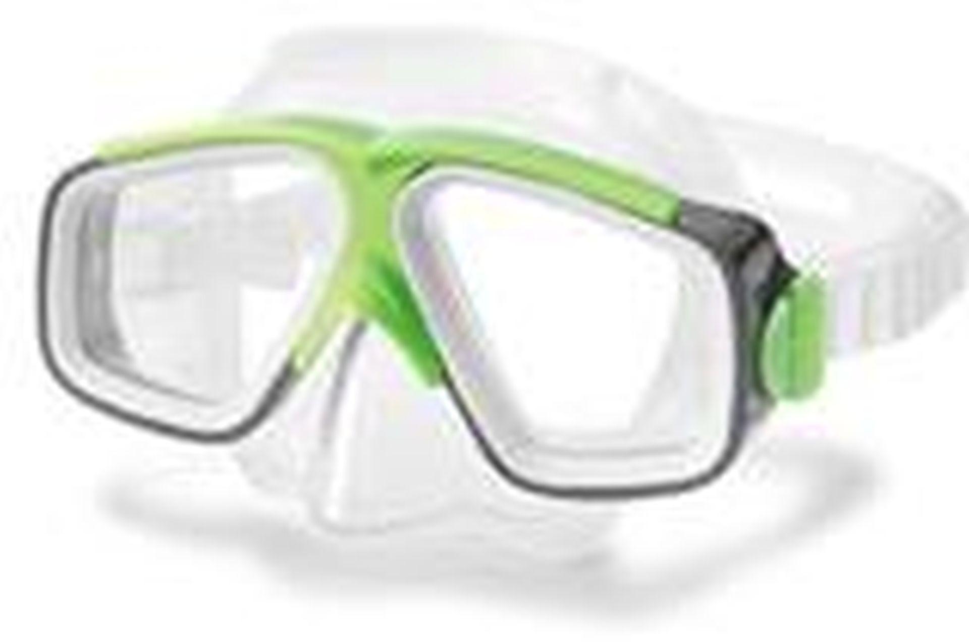 INTEX Potápěčská maska, brýle Surf Rider, zelená 55975