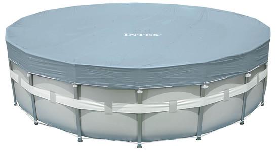 INTEX Krycí plachta Deluxe pro bazény Frame-Pool 488 cm 28040