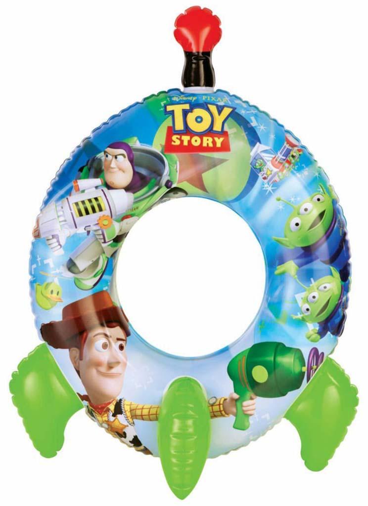 INTEX Plavací kruh ve tvaru rakety Toy storyc 58252NP