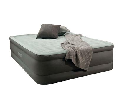INTEX Zvýšená nafukovací postel s vestavěnou pumpou queen, 203 x152 x 46 cm 64474