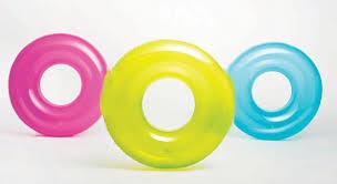 INTEX Plovací kruh 76 cm, modrý 59260NP