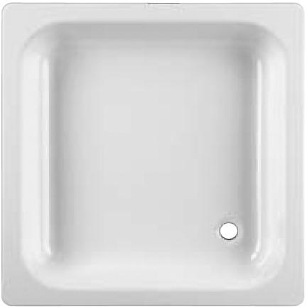 Jika SOFIA vanička 70x70 čtvercová bílá 2.1407.0.000.000.1