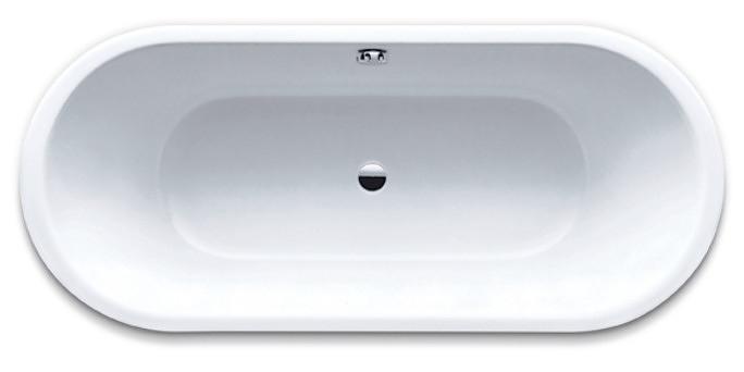 Kaldewei CLASSIC DUO OVAL 111 vana 180 x 80 x 43 cm, bílá, Perl Effekt 291200013001