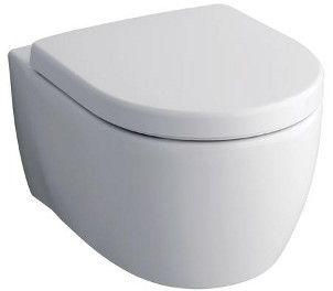 KERAMAG Icon klozet závěsný, s hlubokým splachováním, 6L, bez splachovacího kruhu, bílá, 204060