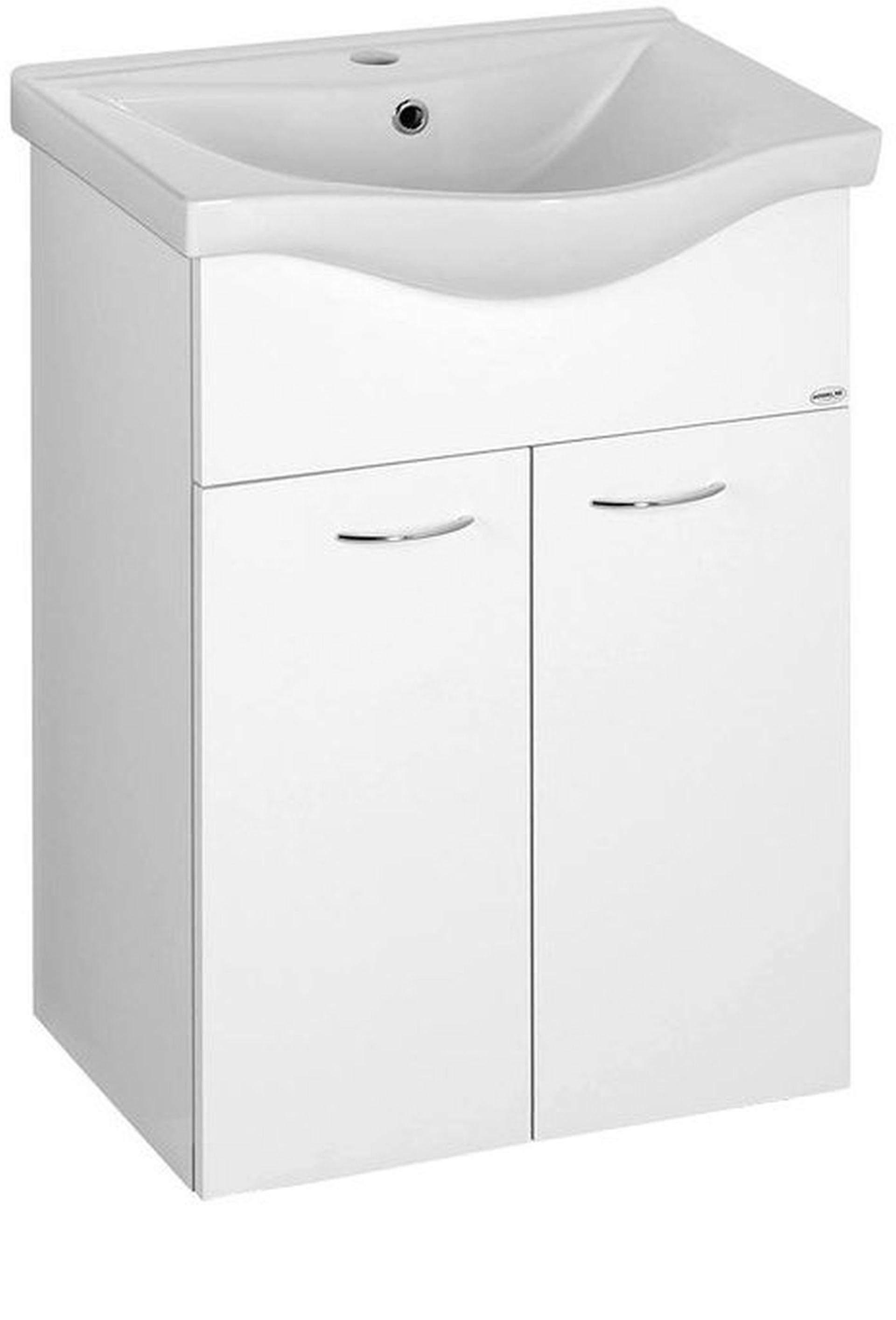KERAMIA FRESH umyvadlová skříňka 51,1x74x34cm, bílá 50057