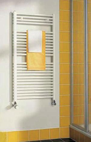 Kermi B20-S koupelnový radiátor 764 x 890 mm, rovný, bílá LS0100800902XXK