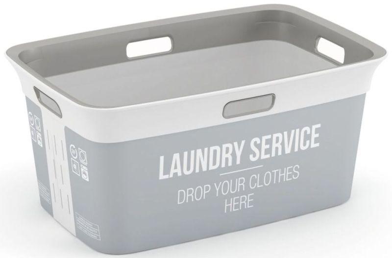 KIS CHIC BASKET HOME SERVICE koš na čisté prádlo 59x39x27cm 45L