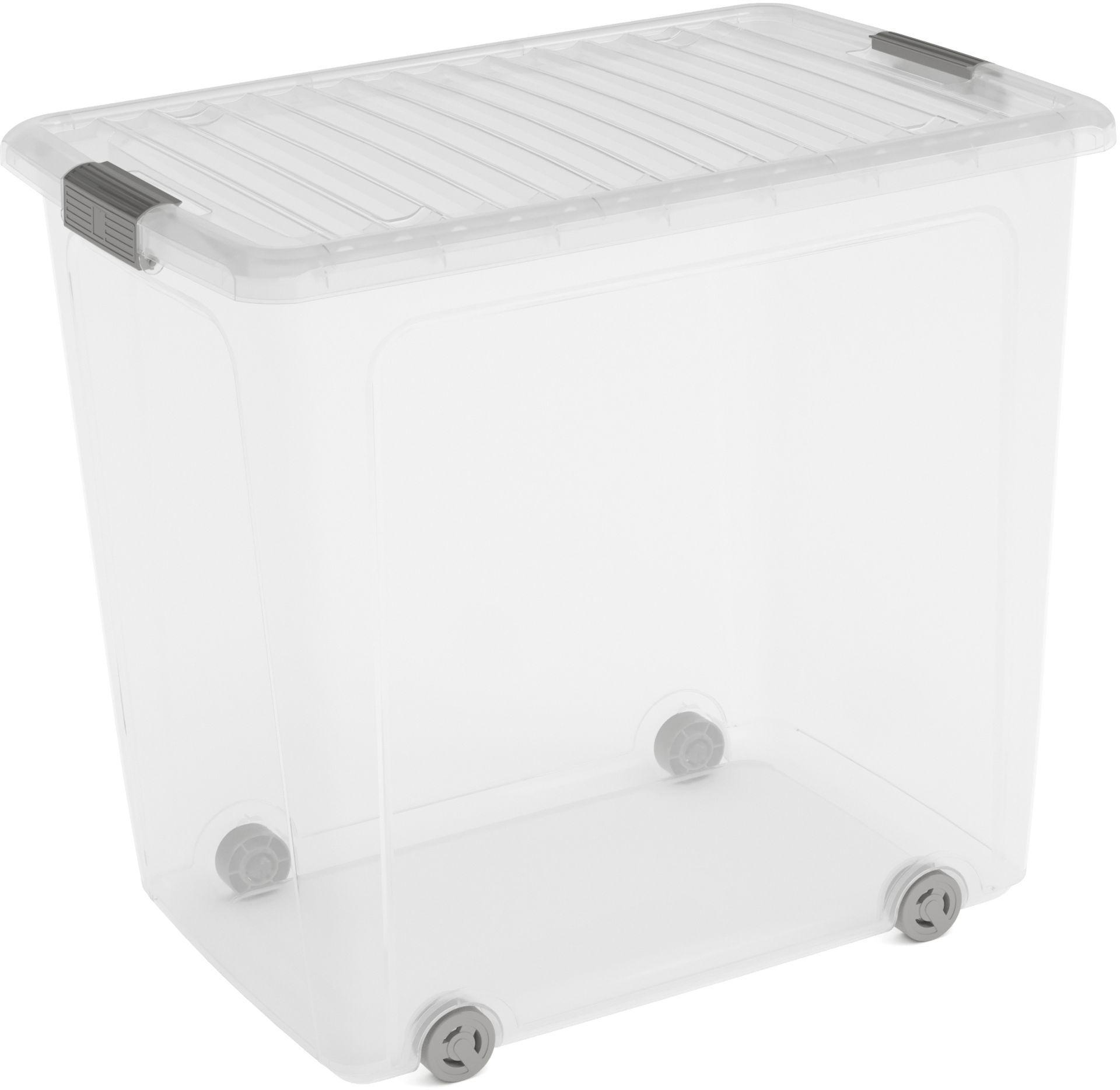 KIS W BOX XL 78L 57x39x52cm transparent/světle šedá