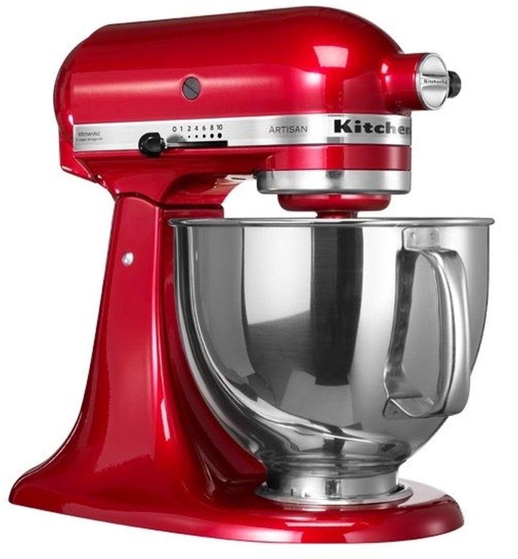 KitchenAid 5KSM150PSECA kuchyňský robot, červená metalíza