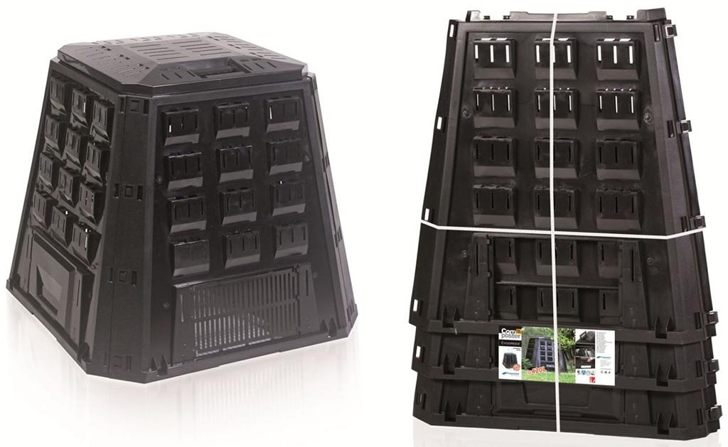 Prosperplast EVOGREEN 420L kompostér černý bez balení IKEL420C