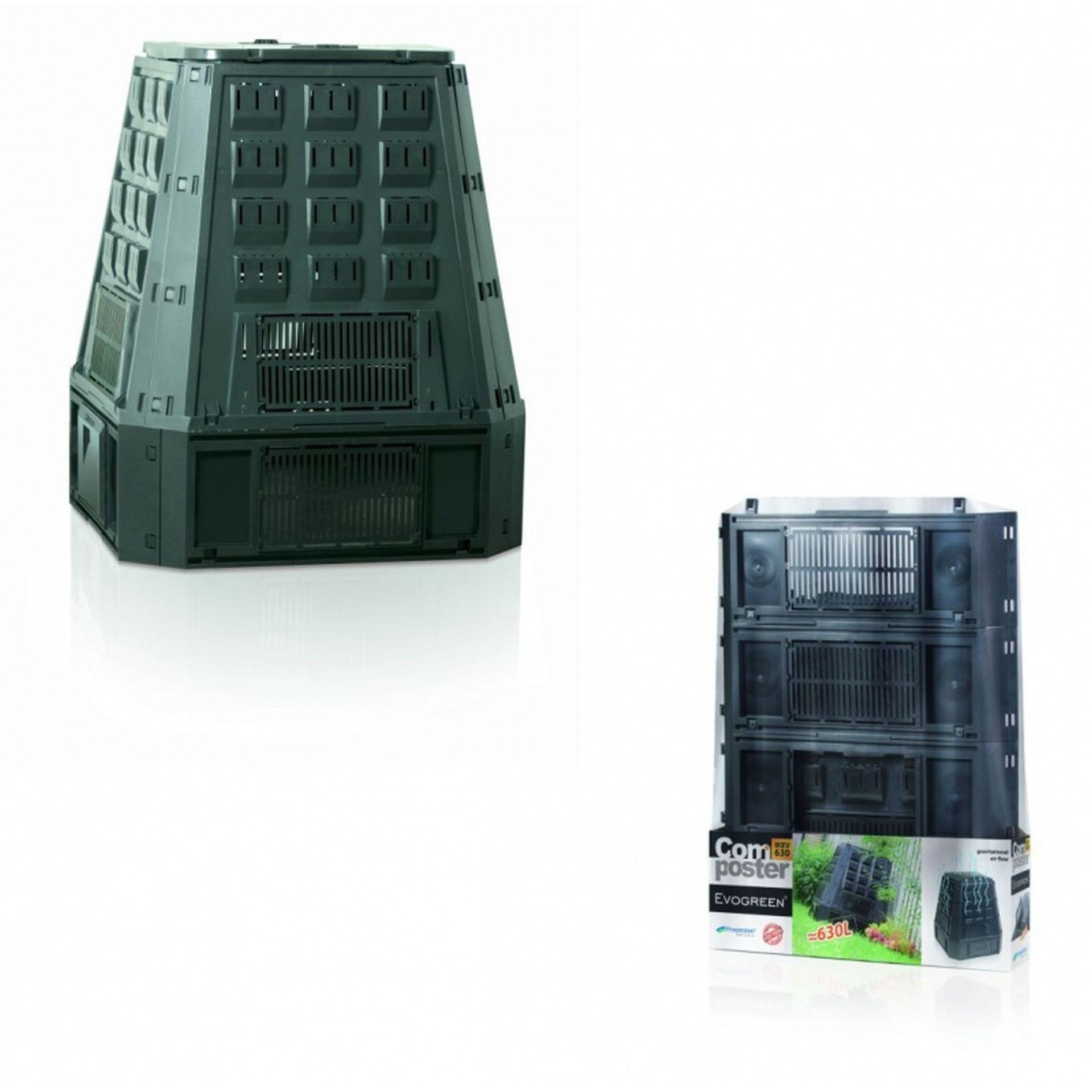 Prosperplast EVOGREEN 630L Kompostér zelený IKEV630Z