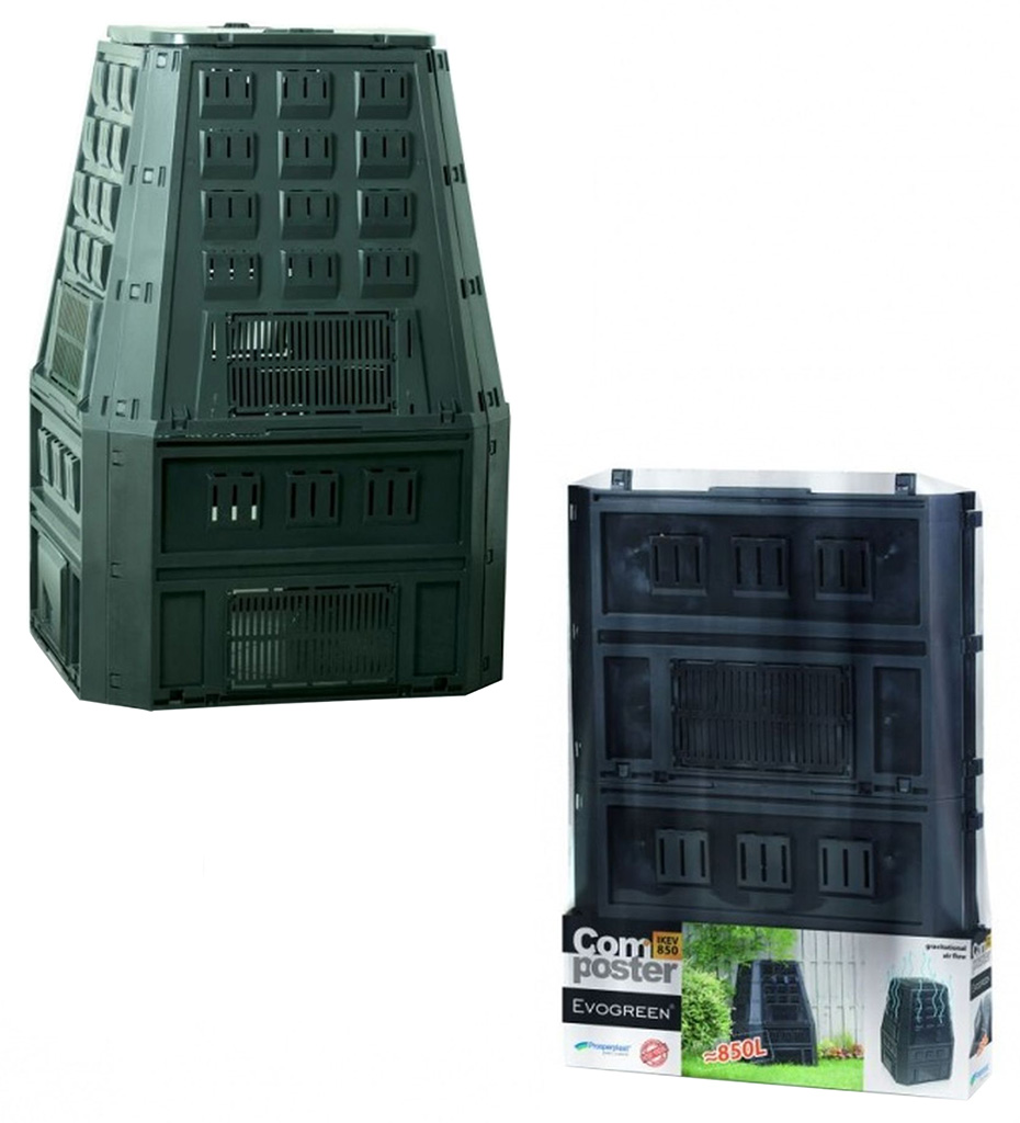 Prosperplast EVOGREEN 850L Kompostér zelený IKEV850Z
